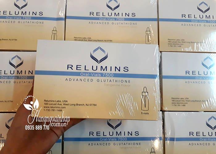 Nước uống trắng da Relumins Advanced Glutathione 7500mg 1