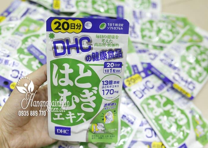 Viên uống trắng da DHC 20 ngày Coix Extract của Nhật Bản 3