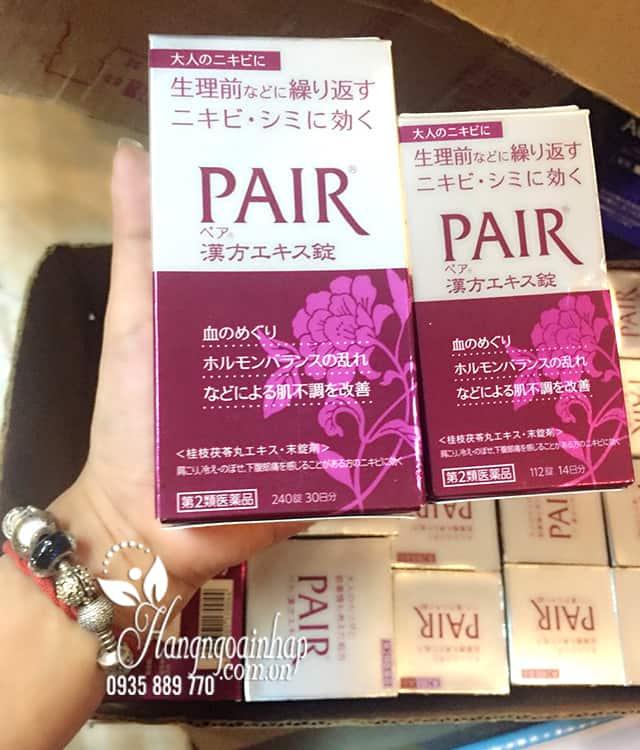 Viên uống trị mụn Pair 112 viên, 240 viên chính hãng Nhật Bản 1