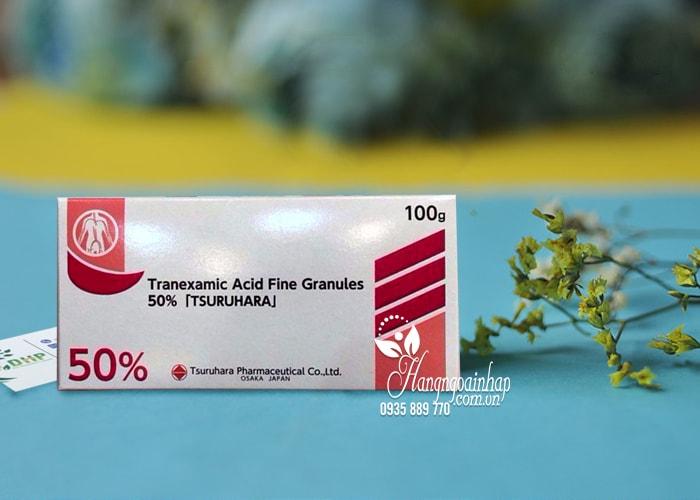 Bột trị nám trắng da Tranexamic Acid 50 Tsuruhara 100g 1