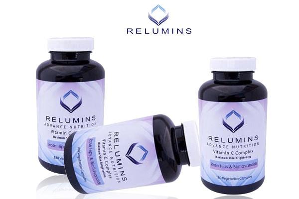 Viên uống trắng da Relumins Vitamin C Complex 180 viên của Mỹ (4)