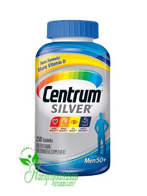 Centrum Silver Ultra Men's 50+ 250 Viên