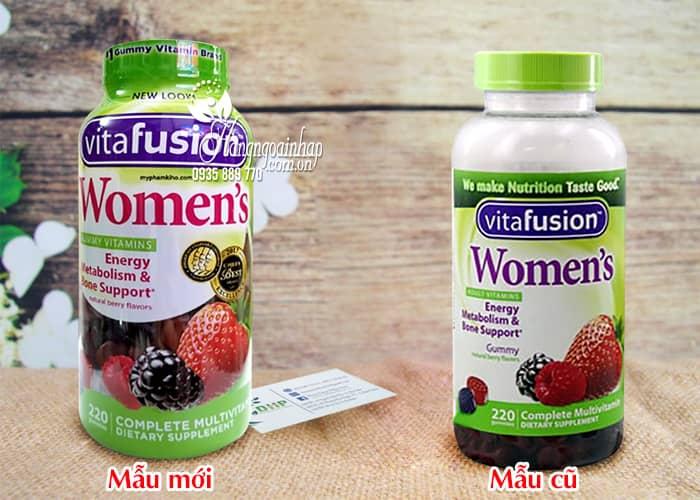 Kẹo dẻo Vitamin Vitafusion Women's Multivitamin 220 viên cho phụ nữ 1