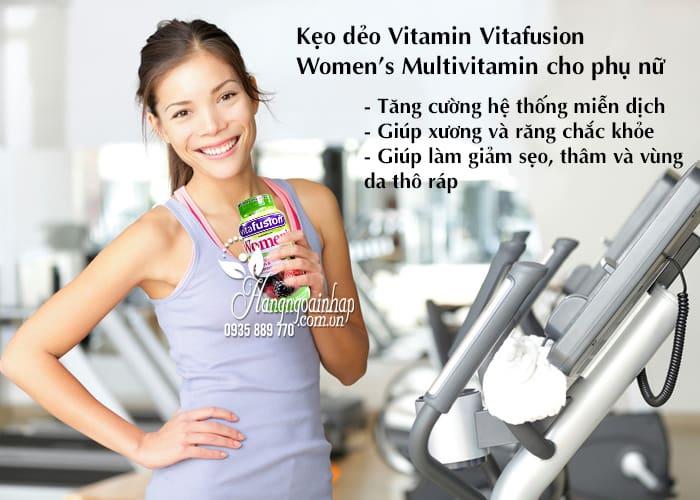 Kẹo dẻo Vitamin Vitafusion Women's Multivitamin 220 viên cho phụ nữ 4