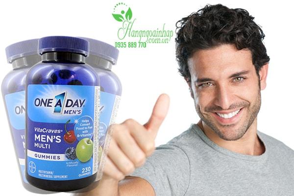Kẹo Vitamin One A Day Men's Cải Thiện Sinh Lý Cho Nam Giới