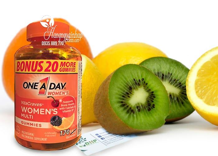 Kẹo Vitamin One A Day Women's Vitacraves Gummies 170 viên của Mỹ 1