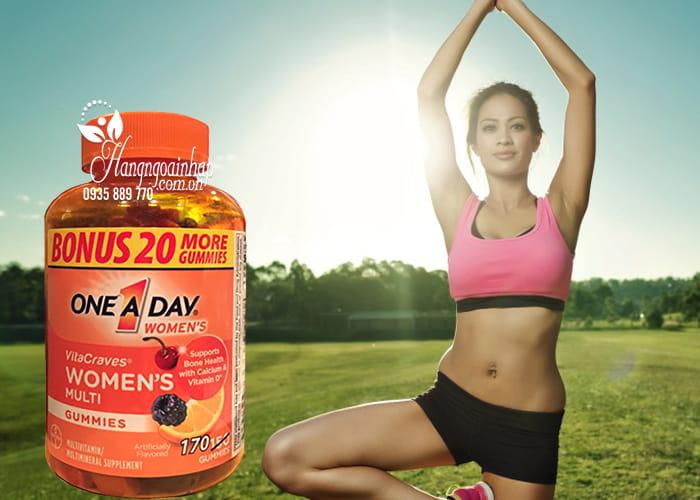 Kẹo Vitamin One A Day Women's Vitacraves Gummies 170 viên của Mỹ 3