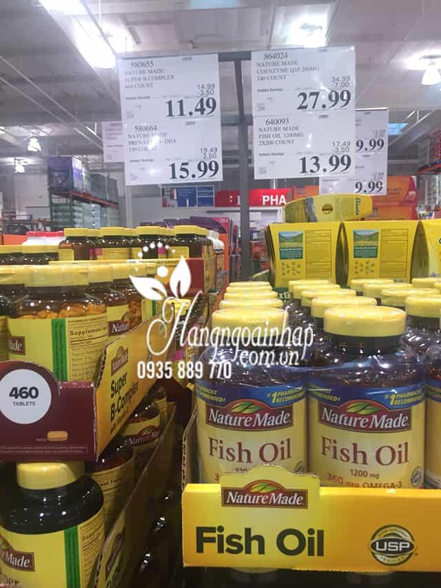 Nature Made Fish Oil 1200mg 360mg Omega 3 200 Viên 7