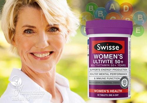Vitamin Tổng Hợp Cho Phụ Nữ Trên 50 Tuổi - Swisse Womens Ultivite 50+ 60 viên
