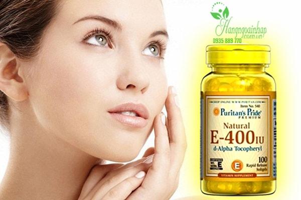 Viên uống bổ sung Vitamin E 400 IU Puritan Pride 100 viên của Mỹ