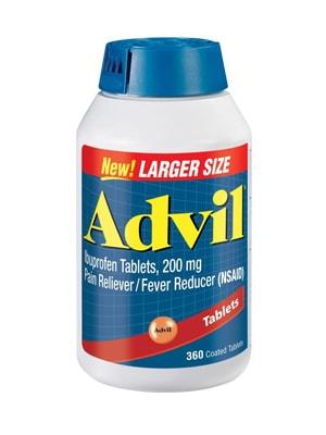 Thuốc giảm đau hạ sốt Advil 360 viên của Mỹ