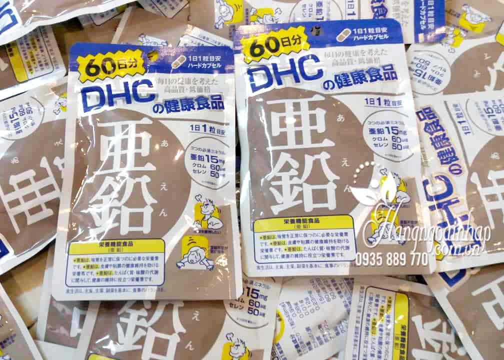 Viên uống bổ sung kẽm DHC 60 viên chính hãng Nhật Bản 2
