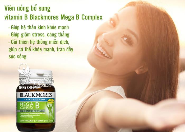 Viên uống bổ sung vitamin B Blackmores Mega B Complex 75 viên 3