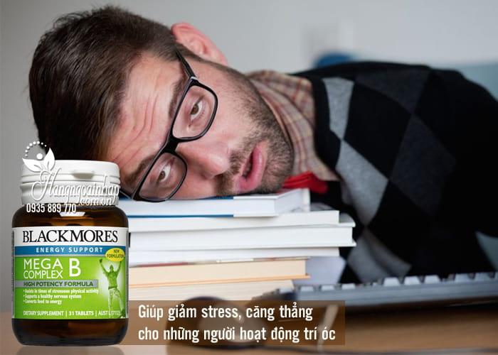 Viên uống bổ sung vitamin B Blackmores Mega B Complex 75 viên 1
