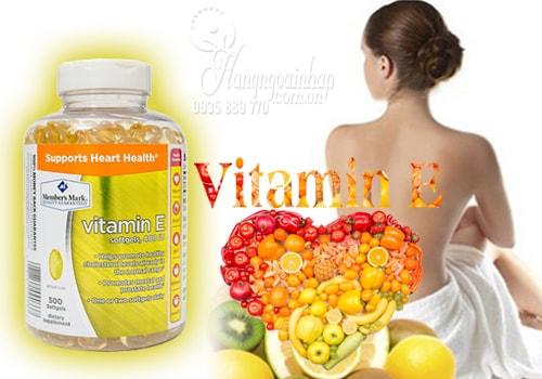 Viên uống bổ sung Vitamin E 400 IU Supports Heart Health 500 viên