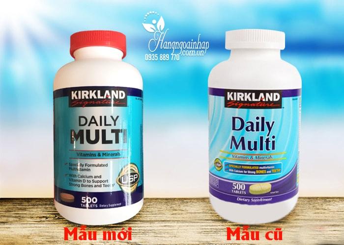 Viên  Uống Bổ Sung Vitamin Tổng Hợp Daily Multi Kirkland  500 Viên Của Mỹ