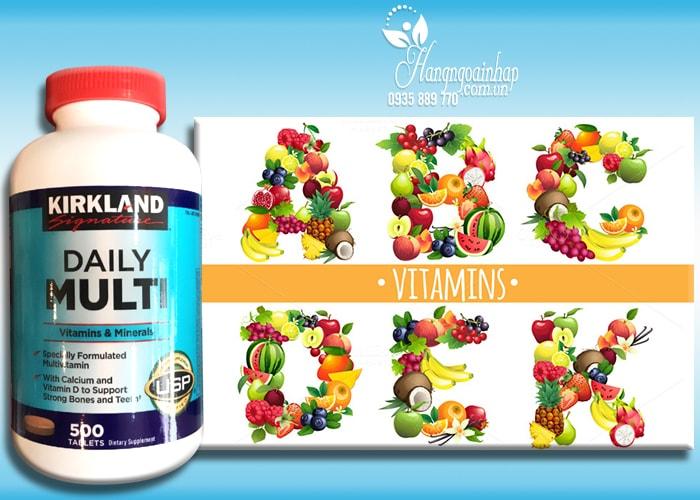 Viên Uống Bổ Sung Vitamin Tổng Hợp Daily Multi Kirkland