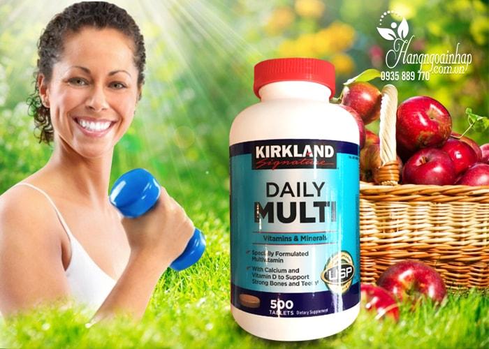 Viên  Uống Bổ Sung Vitamin Tổng Hợp Daily Multi Kirkland  Của Mỹ 500 Viên