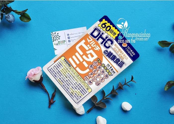 Viên uống bổ sung vitamin tổng hợp DHC 60 viên của Nhật 1