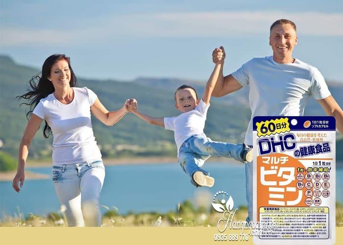 Viên uống bổ sung vitamin tổng hợp DHC 60 viên của Nhật 2