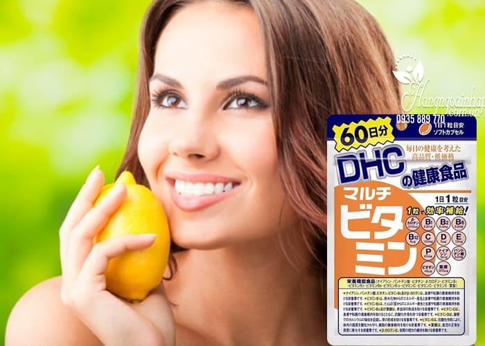 Viên uống bổ sung vitamin tổng hợp DHC 60 viên của Nhật 5