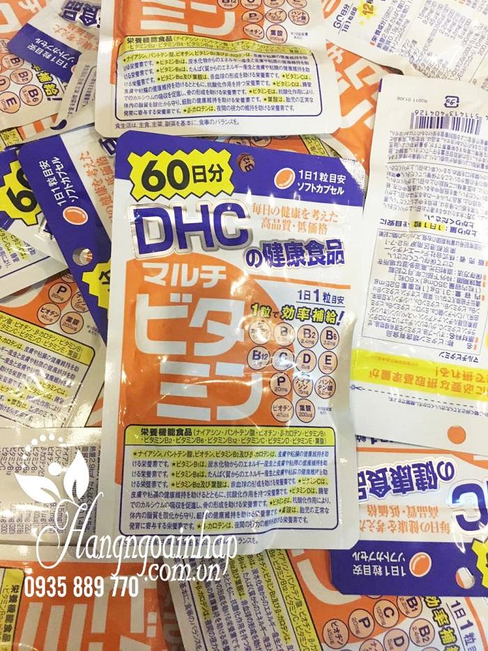 Viên uống bổ sung vitamin tổng hợp DHC 60 viên của Nhật 6