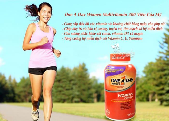 Viên Uống One A Day Women Multivitamin 300 Viên Của Mỹ 5