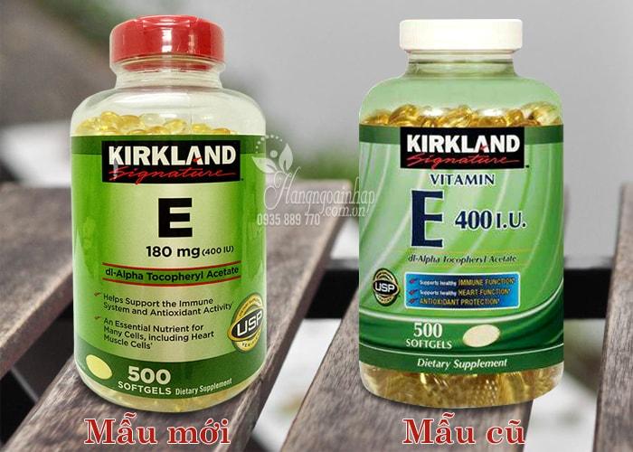 Vitamin E Thiên Nhiên 400 I.U Kirkland Signature 500 Viên Của Mỹ 3