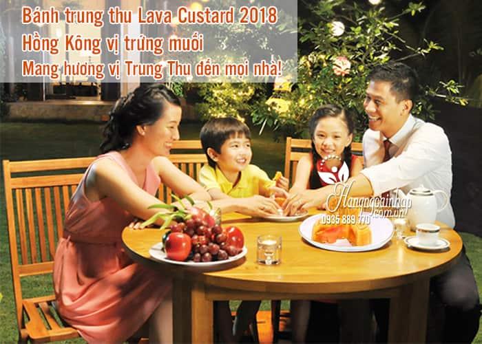 Bánh trung thu Lava Custard 2018 từ Hồng Kông vị trứng muối 2