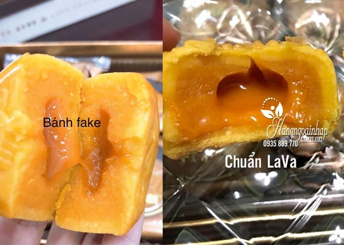 Bánh trung thu Lava Custard 2018 từ Hồng Kông vị trứng muối 1