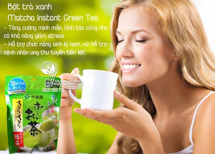 Bột trà xanh Matcha Instant Green Tea của Nhật Bản 2