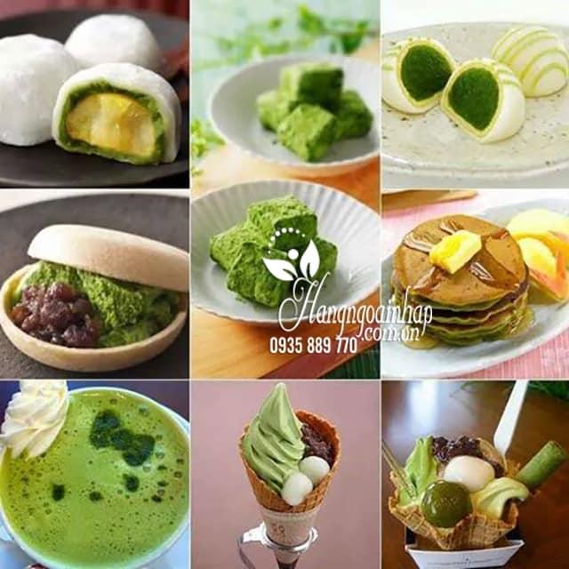 Bột trà xanh Matcha Instant Green Tea của Nhật Bản 3