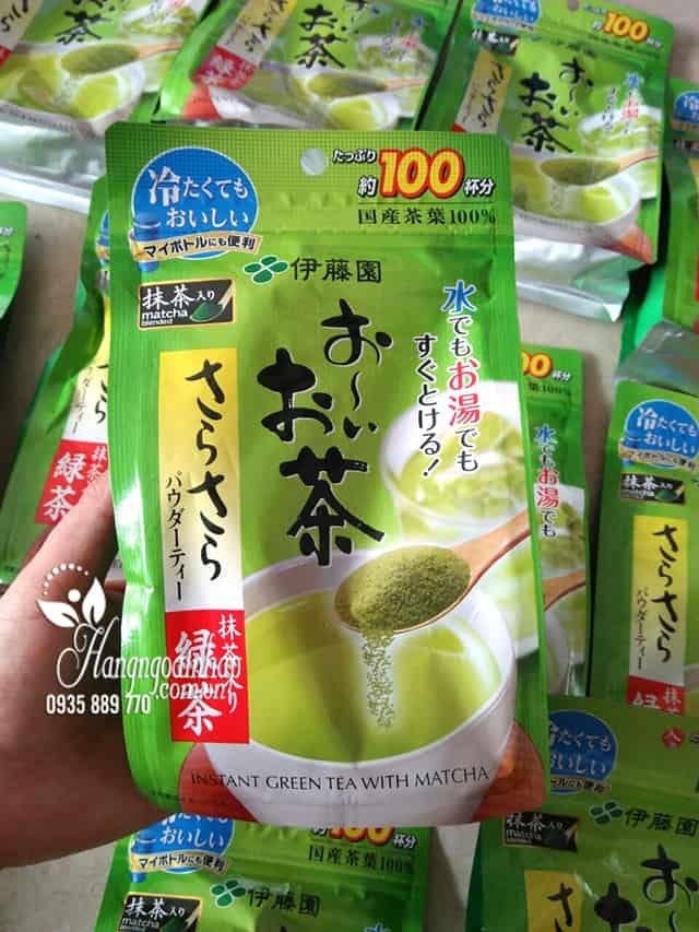 Bột trà xanh Matcha Instant Green Tea của Nhật Bản 1