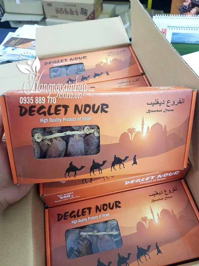 Chà là nguyên cành Deglet Nour Israel 500g vị ngon tự nhiên 1