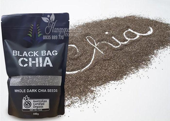 Hạt chia Úc Black Bag Chia túi 500g-Hạt chia hữu cơ Úc