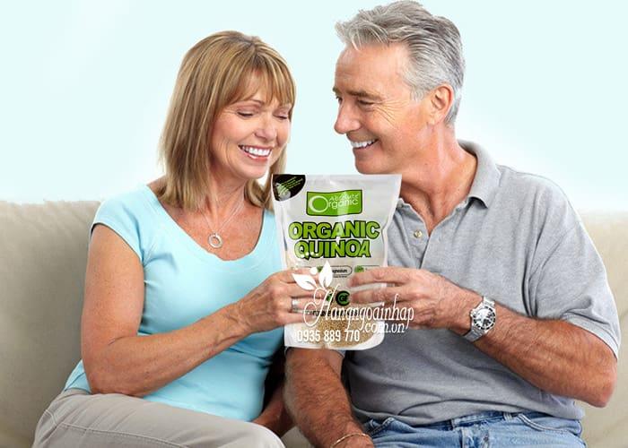 Hạt diêm mạch hữu cơ Organic Quinoa 1kg của Úc chính hãng