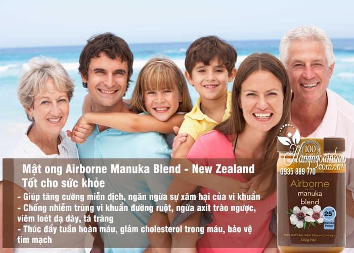 Mật ong Airborne Manuka Blend 25+ 500g - Mật ong New Zealand 4