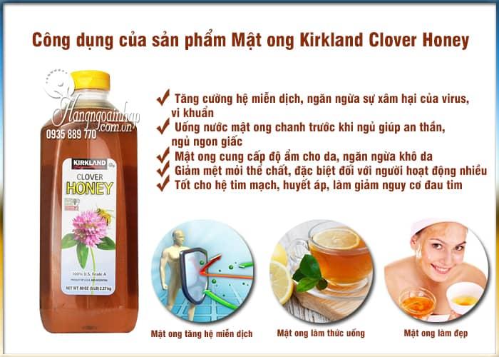 Mật ong Kirkland Clover Honey 2.27kg - Mật ong nguyên chất Mỹ 2