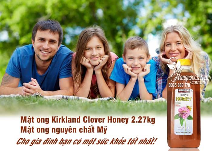 Mật ong Kirkland Clover Honey 2.27kg - Mật ong nguyên chất Mỹ 1