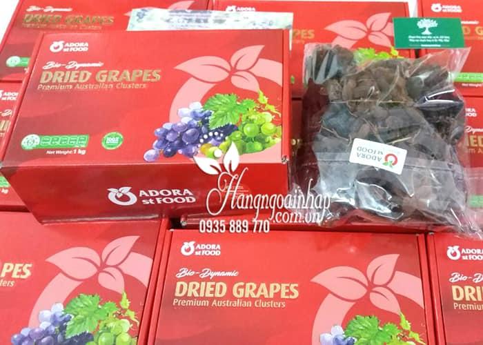Nho khô nguyên cành Dried Grapes 1kg của Úc-Giống nho Thomson 3