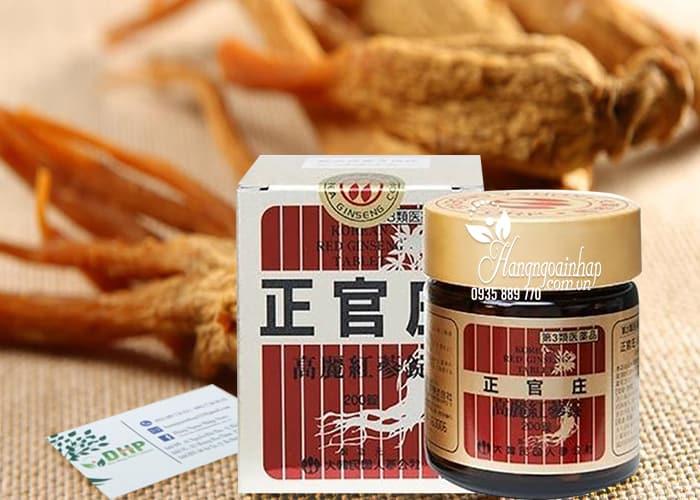 Viên uống hồng sâm Hàn Quốc Korean Red Ginseng Extract Pill 1