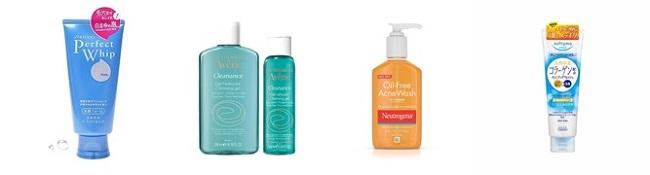 Gợi ý một sô sản phẩm sửa rữa mặt để cải thiện làn da lỗ chân lông to
