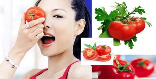 trị nám da bằng cà chua hiệu quả