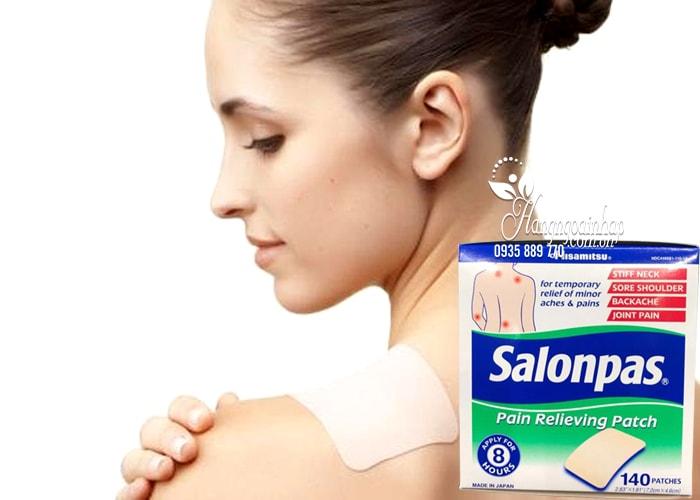 Cao dán giảm đau Salonpas Pain Relieving Patch 140 miếng 2