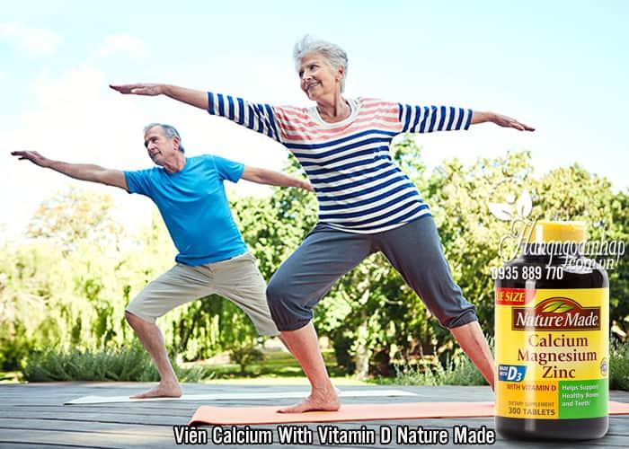 Viên Calcium With Vitamin D Nature Made 300 Viên Của Mỹ 2