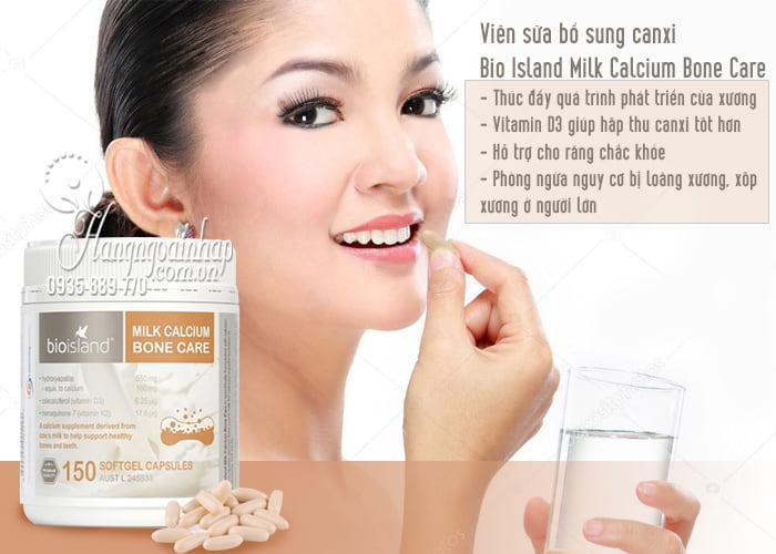 Viên sữa bổ sung canxi Bio Island Milk Calcium Bone Care 150 viên 3
