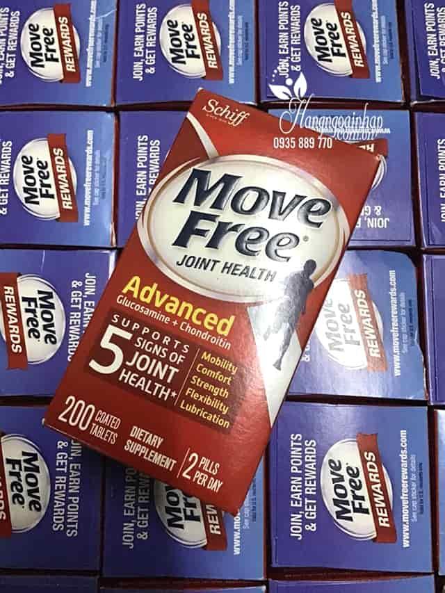 Viên uống bổ khớp Schiff Move Free Joint Health Advanced 200 viên 5
