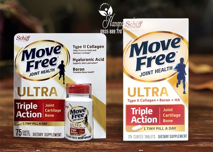 Viên uống bổ xương khớp Schiff Move Free Ultra Triple Action 1